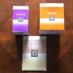 One month of Thrive le-vel 3 step wellness program